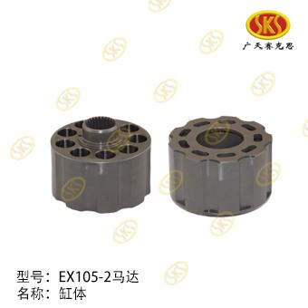 CYLINDER BLOCK-EX105-2 TATA HITACHI 880-1101