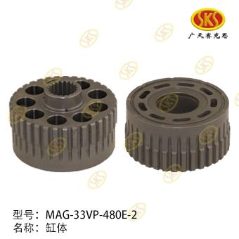 CYLINDER BLOCK-MAG-33VP-480E-2 527-1101