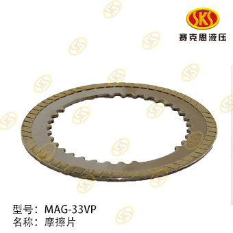 FRICTION PLATE-MAG-33VP-480E-2 527-1801