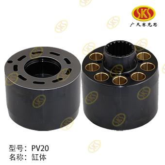 CYLINDER BLOCK-PV20 603-1100