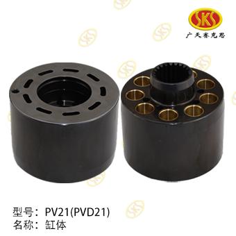 CYLINDER BLOCK-PVD21 604-1100