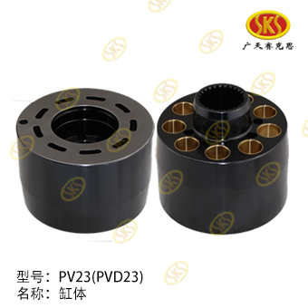 CYLINDER BLOCK-PV23 606-1100