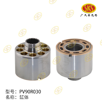 CYLINDER BLOCK-PV90R030 629-1100