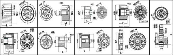 CYLINDER BLOCK-PV90R75 632-1100