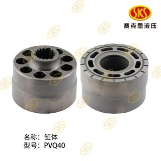 CYLINDER BLOCK-PVQ50 651-1101A