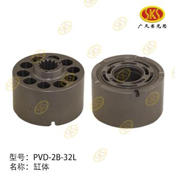 CYLINDER BLOCK-PVD-2B-34L 671-1101
