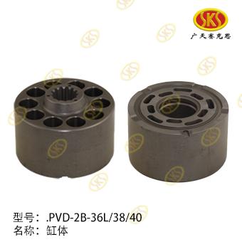 CYLINDER BLOCK-EX30-2 672-1101