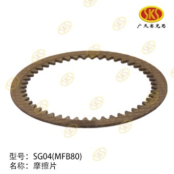FRICTION PLATE-MFB80 711-1801