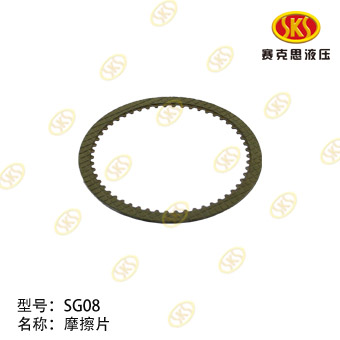 FRICTION PLATE-SG08 712-1801