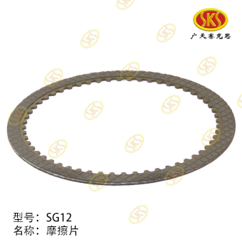 FRICTION PLATE-SG12 715-1801