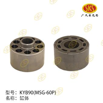 CYLINDER BLOCK-MSG-60P L080038-1101
